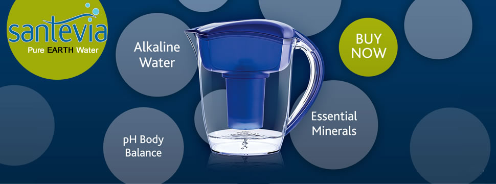 Santevia Pure Earth Alkaline Water