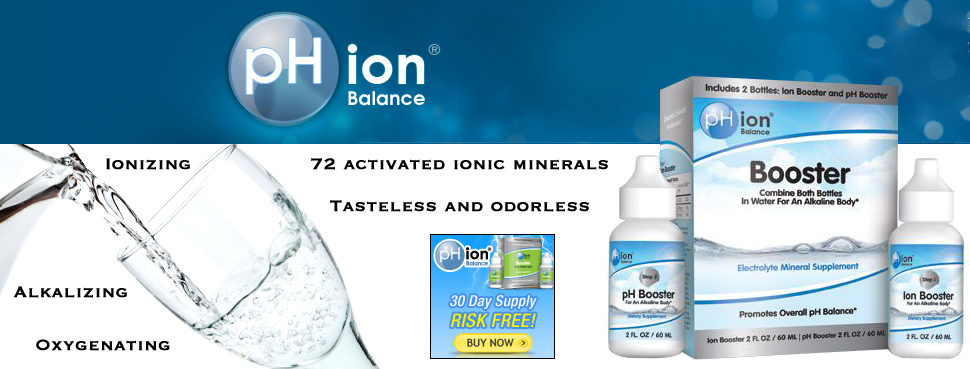pH ion Balance Alkaline Drops